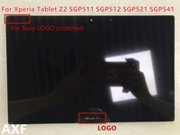 New Genuine Black LCD Screen Display For Sony Xperia Tablet Z2 SGP511 SGP512 SGP521 SGP541 Touch