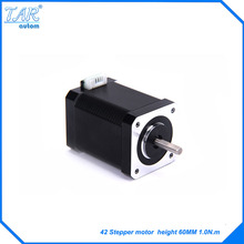 цена на High torque 42 Stepper Motor 2 PHASE 4-lead Nema17 motor  60MM 23A/1.65A 0.89N.M LOW NOISE (17HS1538) motor for Marking Machine