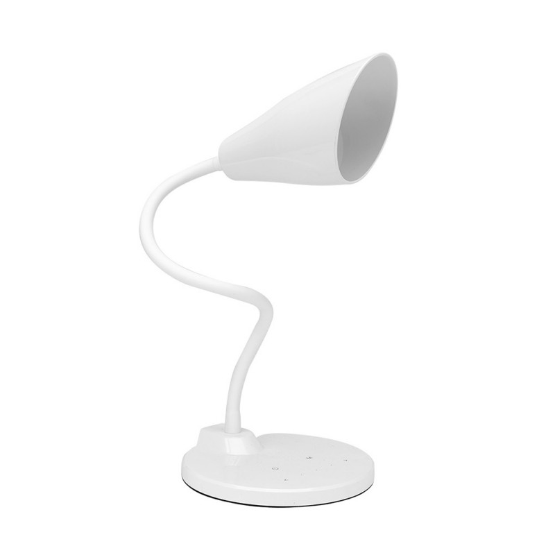 26 LED Retro Large speaker Shade Clasp lampshade Five Level Touch Switch dimming LED Lamp USB Charged Table Lamp