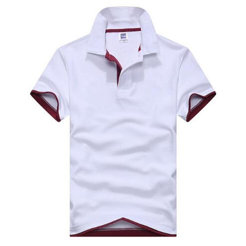 2019 Summer New Fashion Camisetas Short Sleeve   Polo   Masculinas Turn Down Collar Summer Casual Men's   Polo   Shirt 15 Colors