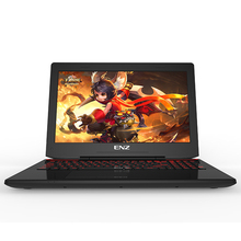 ENZ X36 15.6 inche I7-7700HQ gaming notebooks Computer GTX1060 6G independent display 8G RAM+1TB HDD laptop free shipping