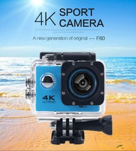 KARUE Original Upgraded version F60 F60R style Ultra HD 4k Action Camera Wifi 2 0 screen