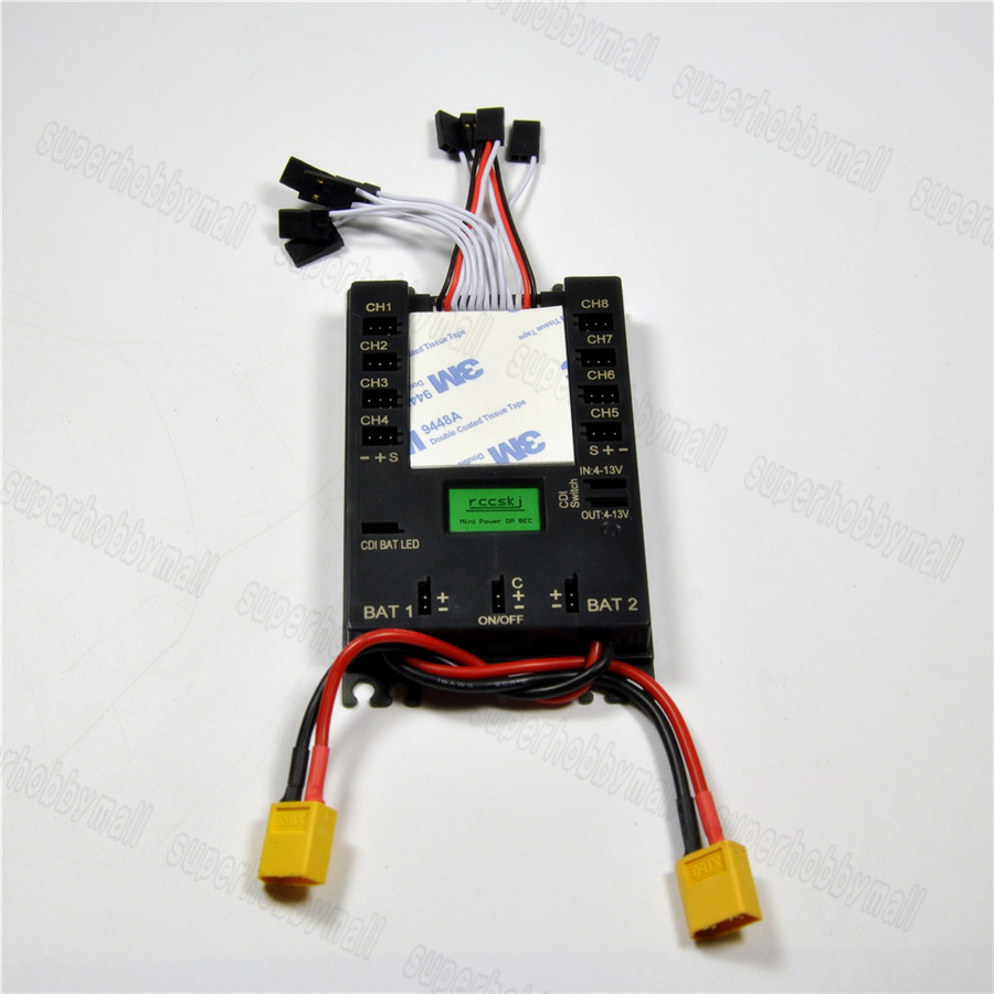 Mini Power DP Bec Servo Section Board 8 channels input 16 channels output бра idlamp 406 406 3a blackchrome
