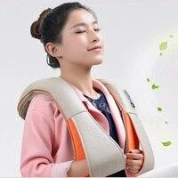 Colourfulcat U Shape Homehold Neck Massager Electrical Shiatsu Leg Back Body Massagers Infrared 3D Beat Massagem