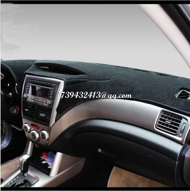 Dashmats car-styling accesorios tablero de instrumentos cubierta para Subaru Outback 2010 2011 2013 2015 2016 2017