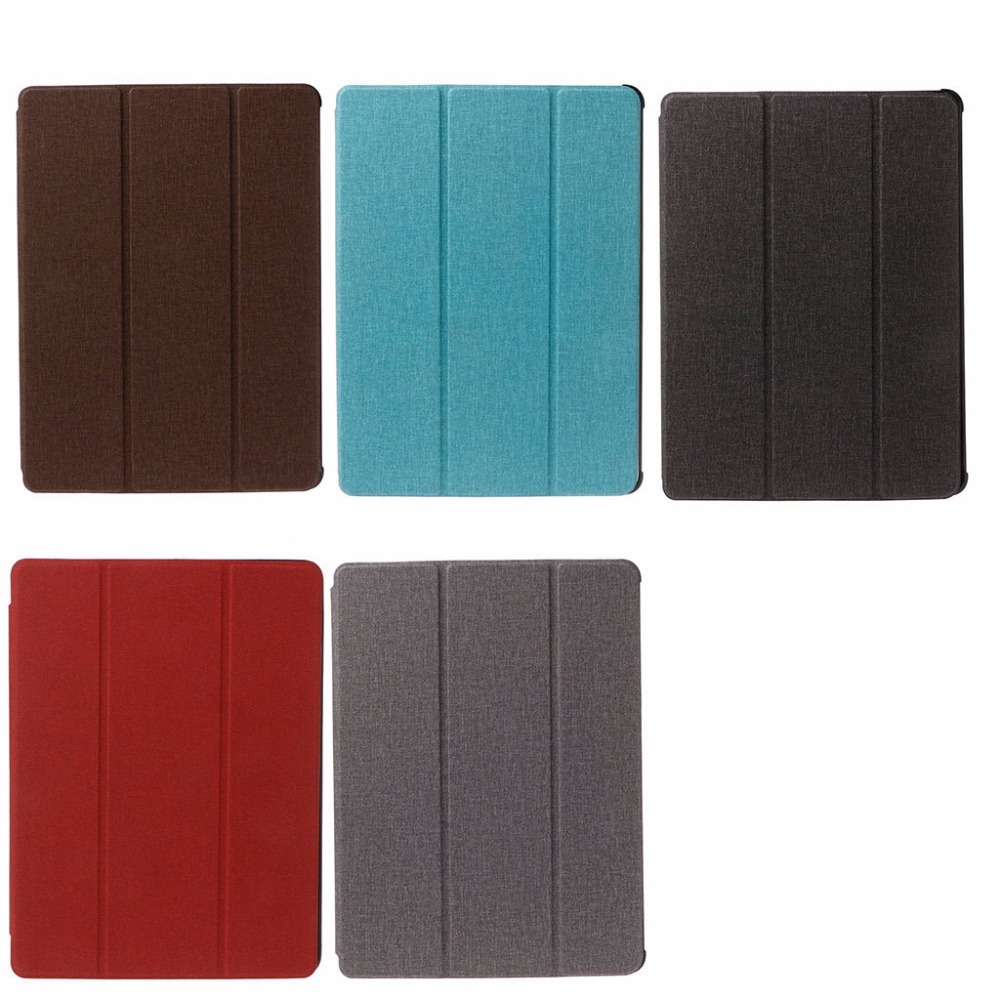 Tablet Faux Leather Flip Folio Stand Smart Case Cover With Pencil Holder Auto Sleep/Wake For Apple 2017 iPad Pro 10.5 New C45 for ipad pro case 12 9 9 7 auto sleep wake up magnetic smart stand flip leather hand hold tablet cover