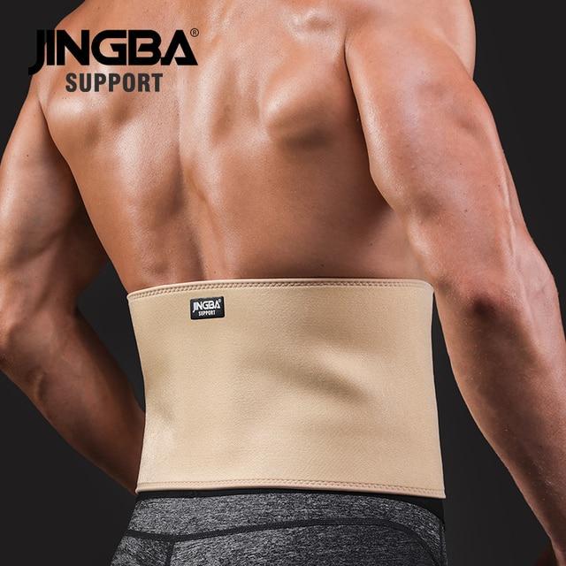 JINGBA SUPPORT Waist trimmer Slim fit Abdominal Waist sweat belt musculation abdominale Back Waist Support sport belt protective 2
