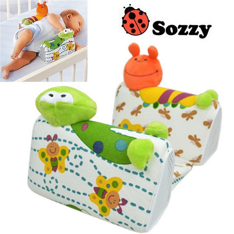 0 M Baby Sleep Positioner Pillow Anti Roll Infant Sleep
