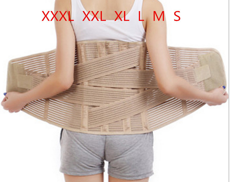 Protection Belt Steel Bars Elastic Support Breathable Relieve Back Muscle Pain Care your Waist