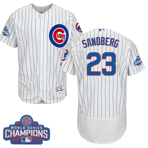 uk availability 8dfb8 54244 chicago cubs 23 ryne sandberg 1909 white pullover jersey
