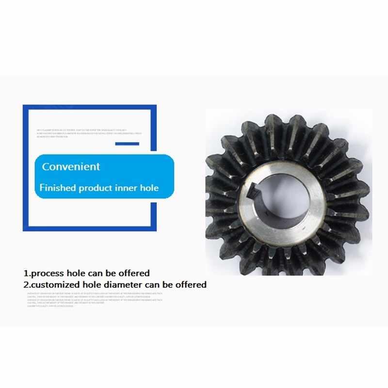 1 шт. конического зубчатого колеса 1 м 20 Зубы внутренний диаметр 5/6/7/8 мм шестерни 90 градусов передаточного механизма углеродная сталь своими руками фрезерный станок с ЧПУ