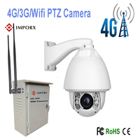 2016 Hot Sell High Speed Dome 4G 3G WIFI CCTV PTZ IP Camera Security Camera