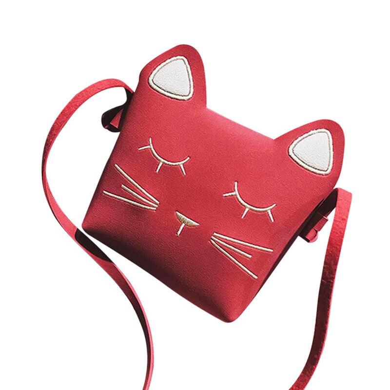 Лидер продаж маленькие кожаные девушка Сумки на плечо высокое качество Сумки и мультфильм Сумки дети Mini Crossbody Bag