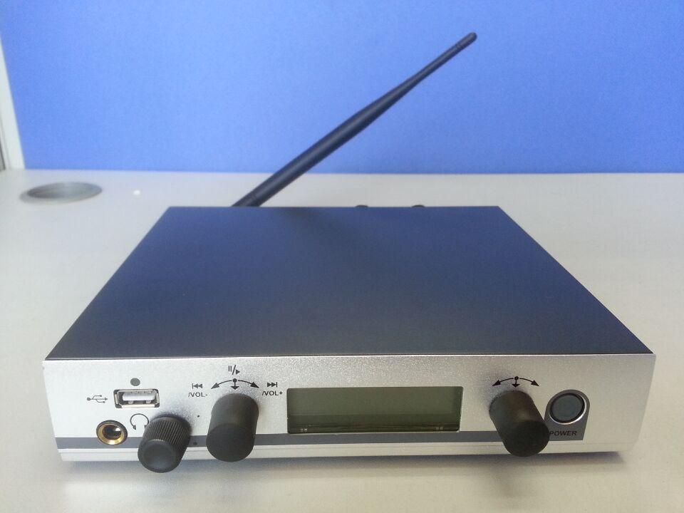Profesjonalny bezprzewodowy w ucho monitor systemu do występów na scenie IEM bezprzewodowy nadajnik odbiornik ucha System monitorowania z USB