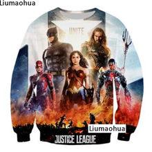 153a1d168d009 Batman Superman sudadera Pullover hombres y mujeres otoño moda Tops 3D  impresión divertida hombres y mujeres sudaderas