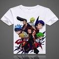 Shaman King camiseta Anime Japonés de Animación de La Novedad Del Verano Camiseta de Los Hombres de Cosplay