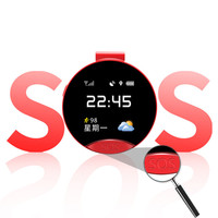 Old man children smart positioning pocket watch GPS positioning SOS two way voice call track alarm clock phone Electronic fence