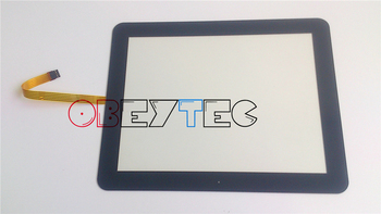 "15"" inch Flat surface Cover 5 Wire Resistive Touch Screen Panel With Black Cover Support Customised (OB5W15FS-one)"