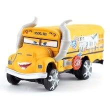 Voiture jouet Pixar Cars 3 et 2 Mack oncle, Bus, échelle 1:55, moulé sous pression, flash McQueen, flambant neuf, en Stock