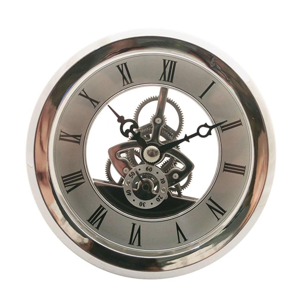 movimento relógio diy artesanato relógios redondos cabeça inserção número romano mayitr