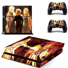 Naruto Sticker for Sony PS4