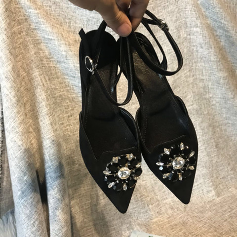Verano Mujer Planos Pic Cuero Sandalias Plano As 2019 De Zapatos Pic as Tacón Mujeres Punta Las 0xPRnqHwF