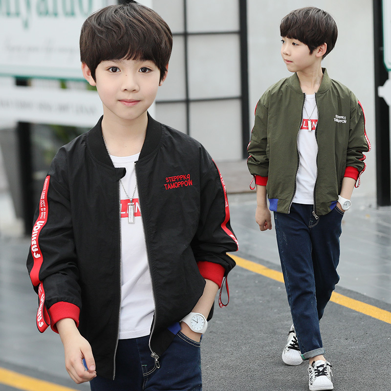 Boys Army Jackets Kis Children Camouflage Jacket Outerwear Kids Autumn Winter Clothes Korean Baby Boys Jacket Sweatshirt 13 Year(China)