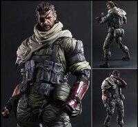 26 CM Jogar Arts KAI Metal Gear Solid V A Dor Fantasma Iroquois Pliskin Old Snake PVC Action Figure Collectible Modelo Toy 15A
