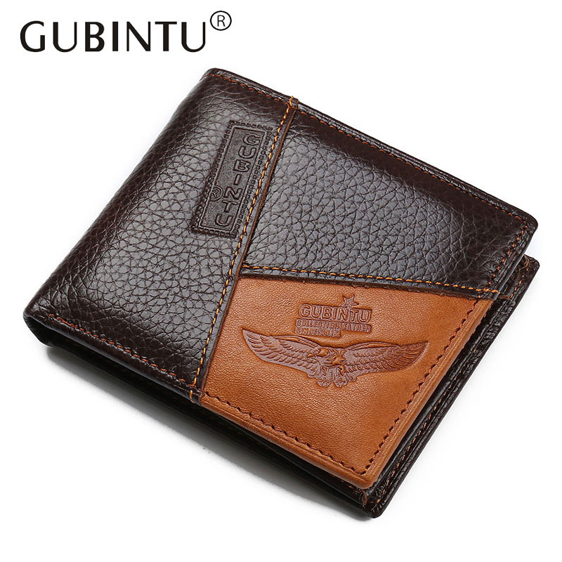 2018 Vintage Men Genuine Cow Leather Wallet Short Designer Card Holder Pocket Fashion Male Carteras Coin Purses Wallets for Men vintage designer men genuine cowhide leather wallet male short coin purse card holder small wallet mini photo holder removeable
