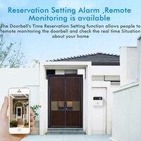 Door Bell WiFi Smart Video Door Bell Intercom Doorbell Wireless Doorbell Low Power Mobile Remote Monitoring