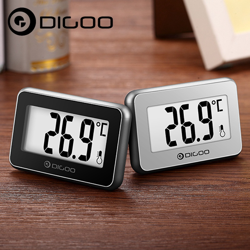 2PCS Digoo DG-TH1100 Little Couple Home Mini Digital Indoor Thermometer Temperature Meter Monitor for Smart Home Automation dg home стул james