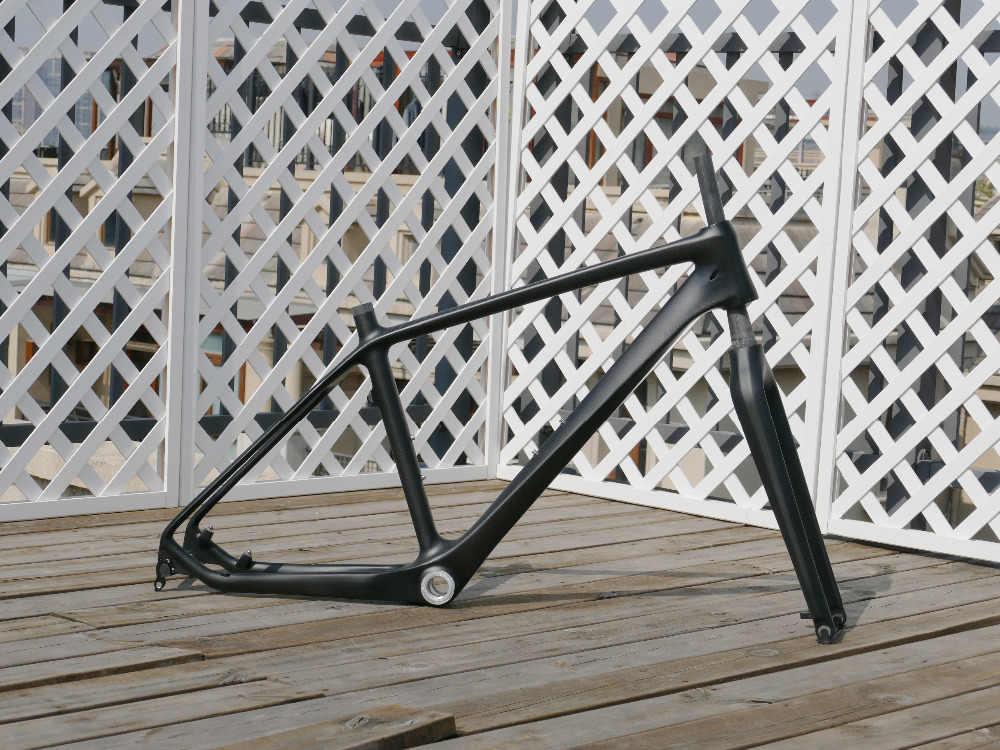 """2019 - MTB Bike FrameSET 26er Carbon MATT GLOSSY Mountain Bicycle Frame 16"""" 18"""" + FORK"""