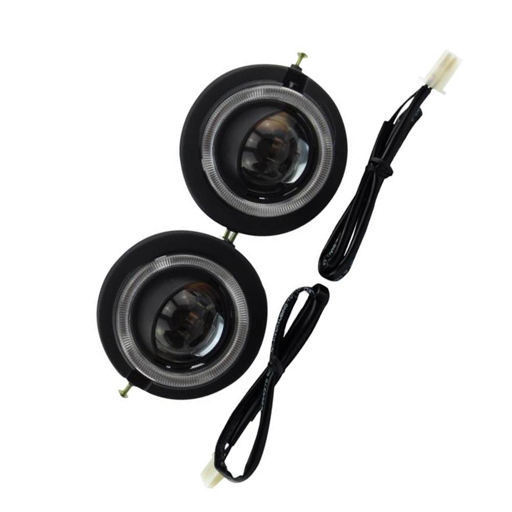 HID Bi-xenon Halogen Bifocal high low beam Projector Fog Lights lens Lamps holder for honda accord CRV CR-V FIT JAZZ hireno headlamp for mercedes benz w163 ml320 ml280 ml350 ml430 headlight assembly led drl angel lens double beam hid xenon 2pcs