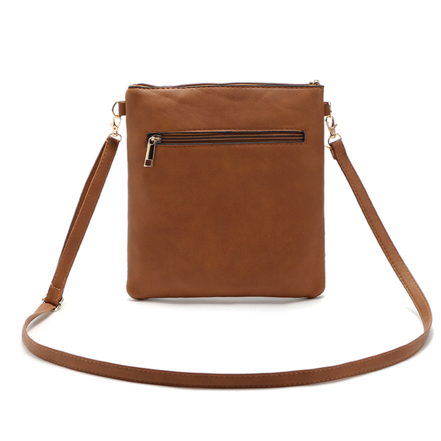 2017 Fashion Small Bag Women Messenger Bags Soft PU Leather Hollow Out Crossbody Bag For Women Clutches Bolsas Femininas Bolsa