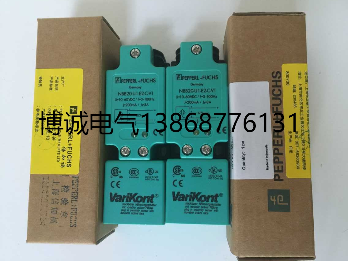 New original High-precision P+FNBB20-U1-E2-C-V1 dhl ems 1pc new pepperl fuchs nbb8 18gm50 e2 v1 m