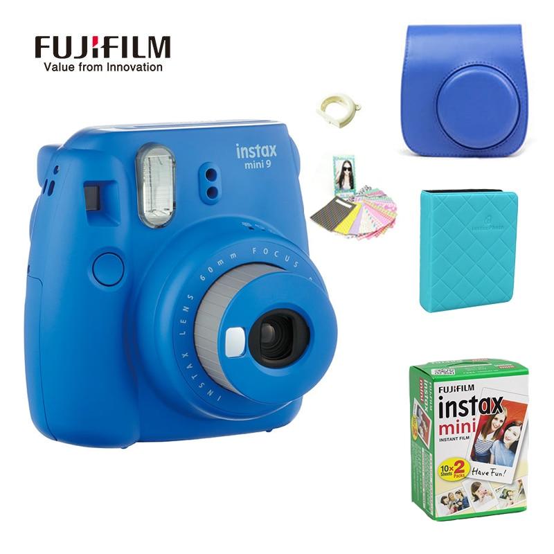 Fujifilm instax mini 9 Instantanea Caméra 10*2 Film Papier Caméra Sac 36 pcs album Photo Fujifilm Instax Mini 8 Version mise à jour