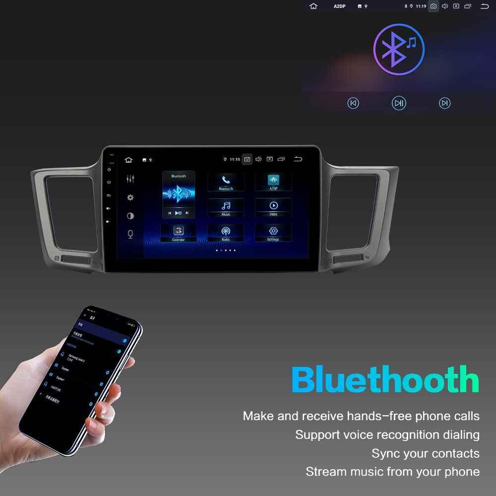 "10.2 ""ips الروبوت 9.0 سيارة مشغل وسائط متعددة لتويوتا RAV4 2013-2017 Rav 4 رئيس وحدة المدمج في GPS DSP HDMI autoradio 4Gb + 64GB"