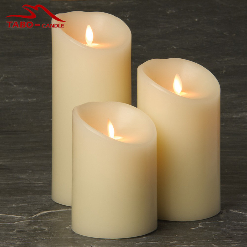 Battery Operated Christmas Candles With Timer