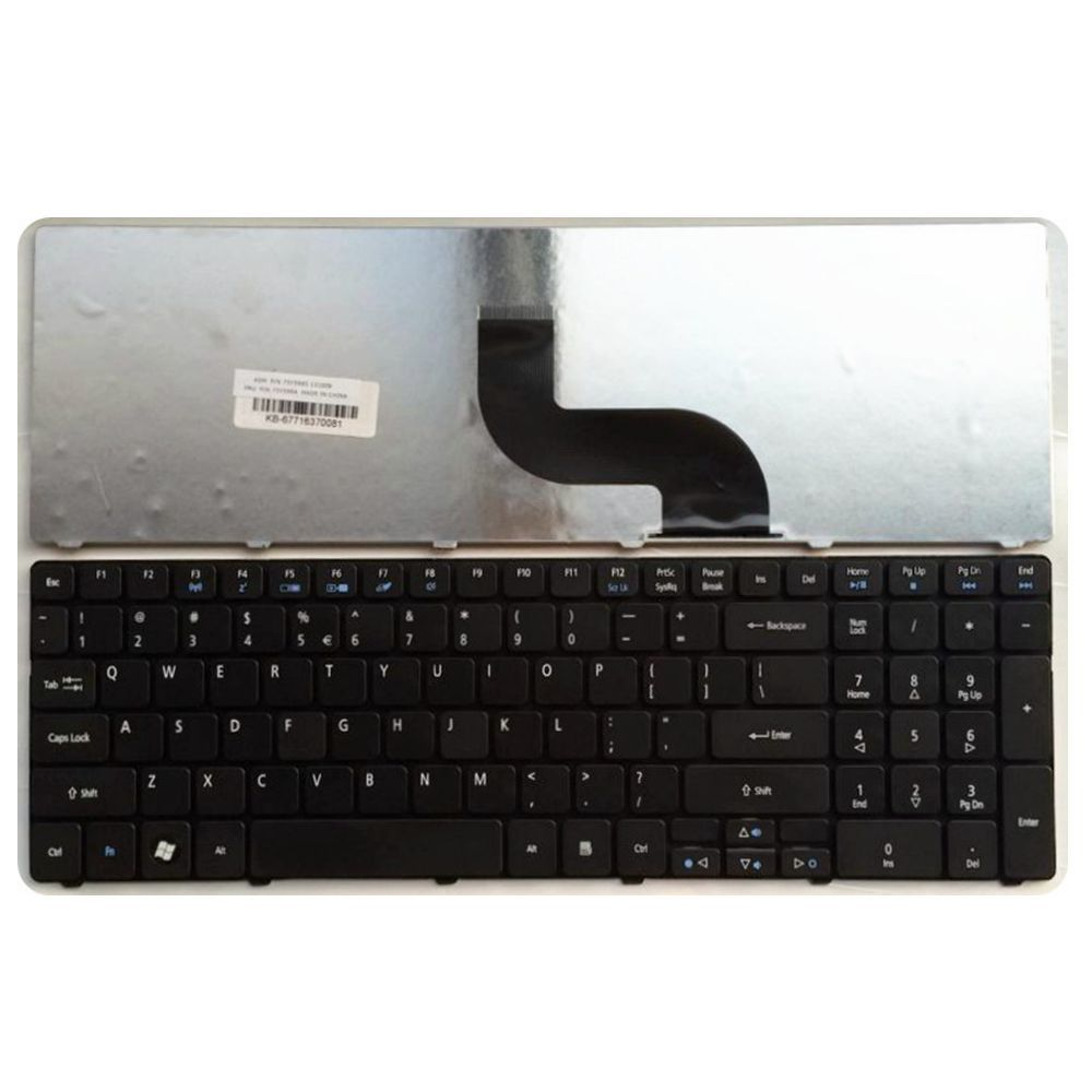 US  Black New English Laptop Keyboard For Acer 5714 For EMachines E732 E732G E732Z E732ZG 5750G 5759 7560G 7739 7750 MS2277