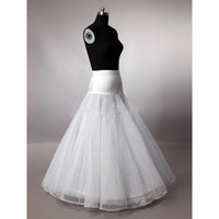 2014 Free Shipping A Line Petticoats Crinoline Underskirt For Long A Line Wedding Dresses Bridal Accessories