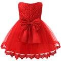 Toddler Bautismo Niña Vestido de Boda de los Bebés Vestidos de Princesa 1 Años de Regalo de Cumpleaños Los Niños Vestidos de Fiesta Para Niñas Ropa