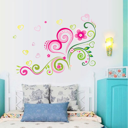 Aliexpress Com Buy Fundecor Diy Wall Stickers Home Decor Modern Art Design Butterfly Flower Pattern Removable Pvc Self Adhesive From Reliable Pvc Chaise