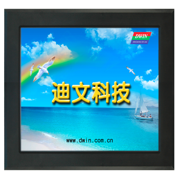 DMT10768T150_18WT 15 inch Diwen serial screen DGUS industrial touch screen HMI human machine interface configuration pws6700t p hmi touch screen human machine interface new in box is upgraded and replaced
