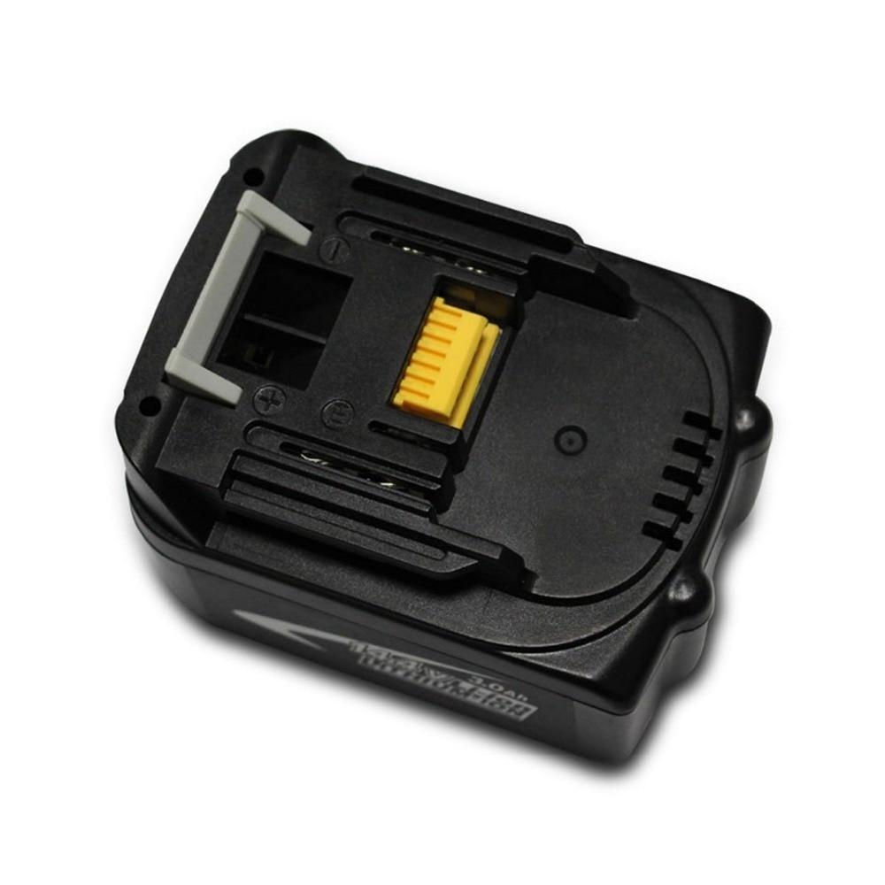 Prix pour 14.4 V 3.0Ah 3000 mAh Au Lithium-Ion BL1430 Rechargeable Batterie pour Makita Outils Sans Fil BL1440 DA340DRF BDF343 Livraison post