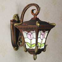 European Style Courtyard Balcony Wall Lights Outdoor Courtyard Lamp Pavilion Door Waterproof And Rust Proof Outdoor Lamps