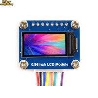 0.96 인치 lcd 디스플레이 모듈  ips 스크린  160x80 hd 해상도  spi 인터페이스  임베디드 컨트롤러 포함