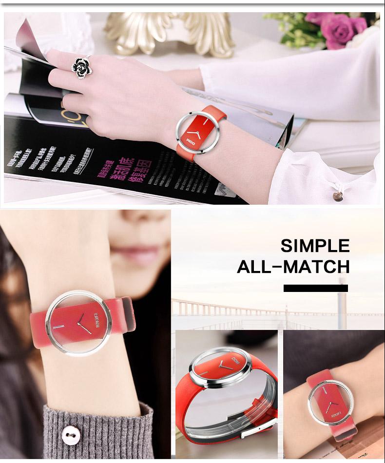 DOM: Reloj de pulsera de lujo para mujer 3