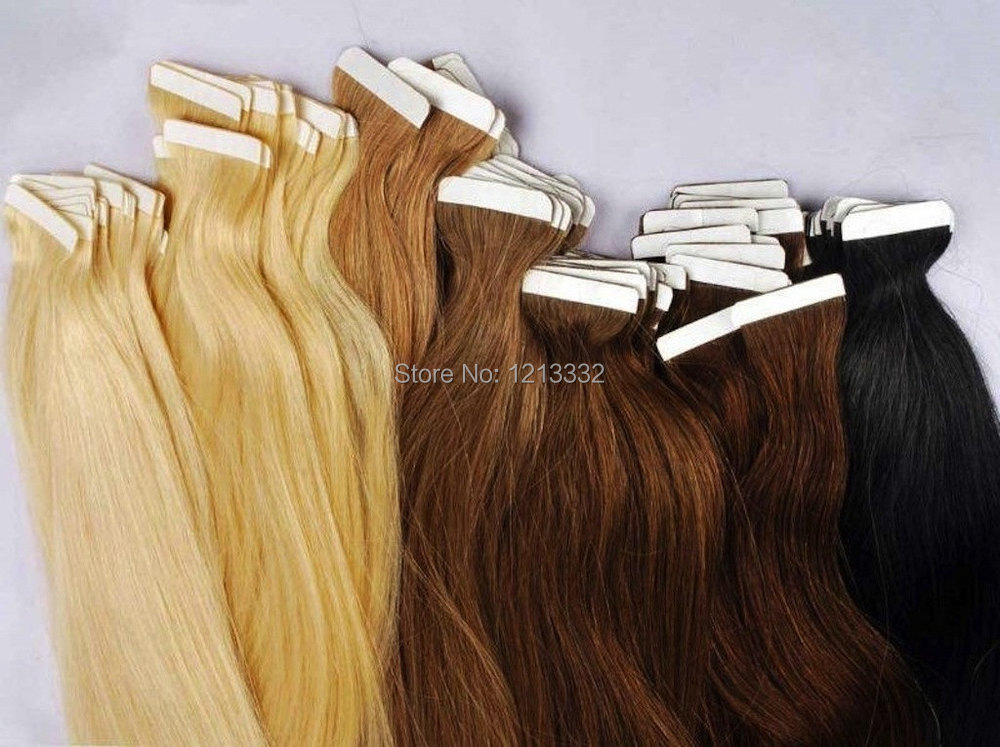 Coupon Hot Queen 5a Products Seamless Double Drawn Skin Weft Tape In