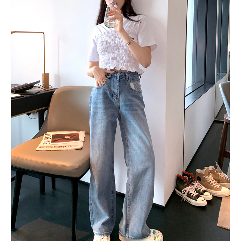 Women   Jean   Slim Femme Pantalona Spring Straight Ladies   Jeans   Denim Clothing casual vintage Cotton Pants   Jeans   new Style