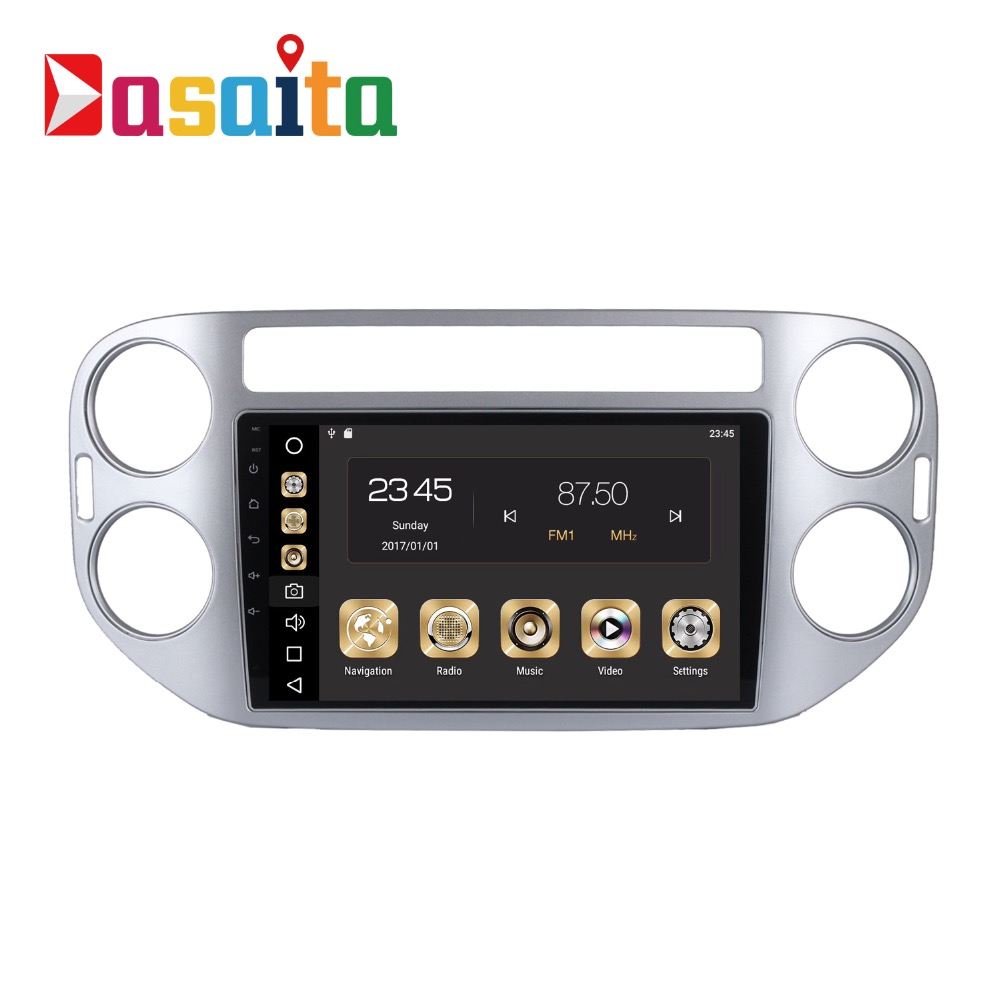 Car 2 Din Android 8 0 GPS for Volkswagen Tiguan 2008 2015 autoradio navigation head unit